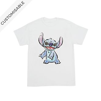 Stitch Smiles Customisable T-Shirt For Kids