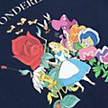 Alice in Wonderland Classic Customisable T-Shirt For Kids