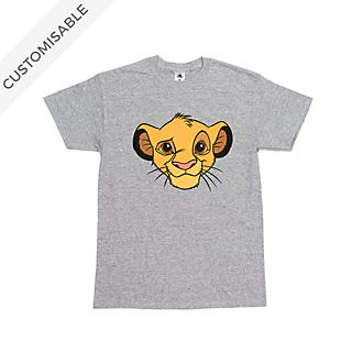Simba Customisable T-Shirt For Kids, The Lion King