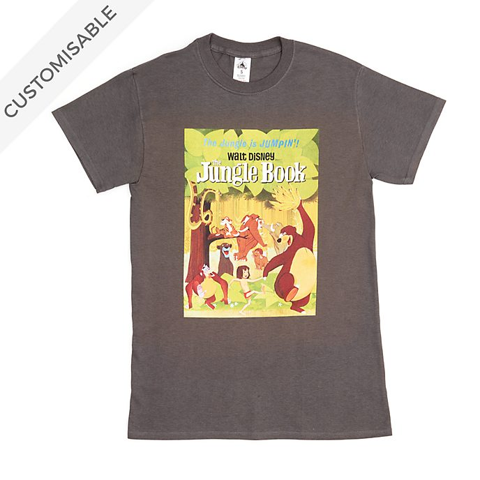 The Jungle Book Poster Customisable T-Shirt For Adults