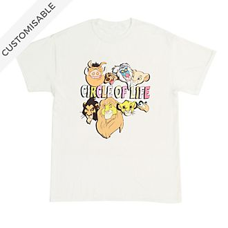 The Lion King 'Circle of Life' Customisable T-Shirt For Adults