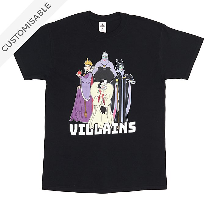Disney Villains Customisable T-Shirt For Adults