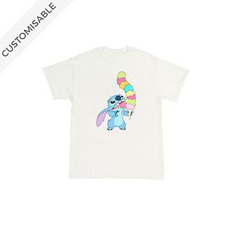 Stitch Ice Cream Customisable T-Shirt For Kids