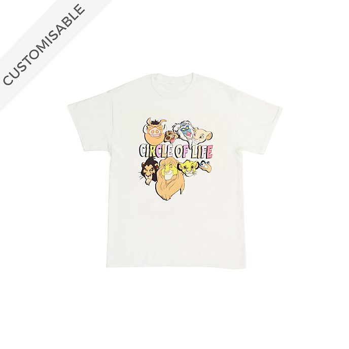 The Lion King 'Circle of Life' Customisable T-Shirt For Kids