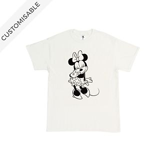 Minnie Mouse Smile Customisable T-Shirt For Kids
