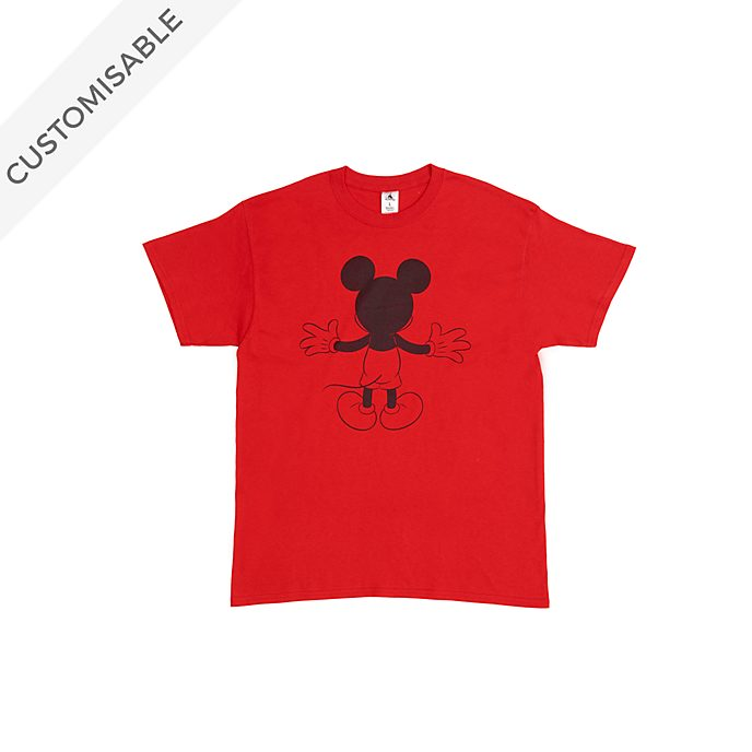 Mickey Mouse Back Customisable T-Shirt For Kids