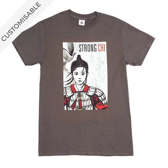 Mulan 'Strong Chi' Customisable T-Shirt For Adults