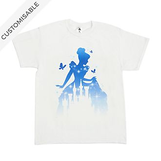Cinderella and Castle Customisable T-Shirt For Adults