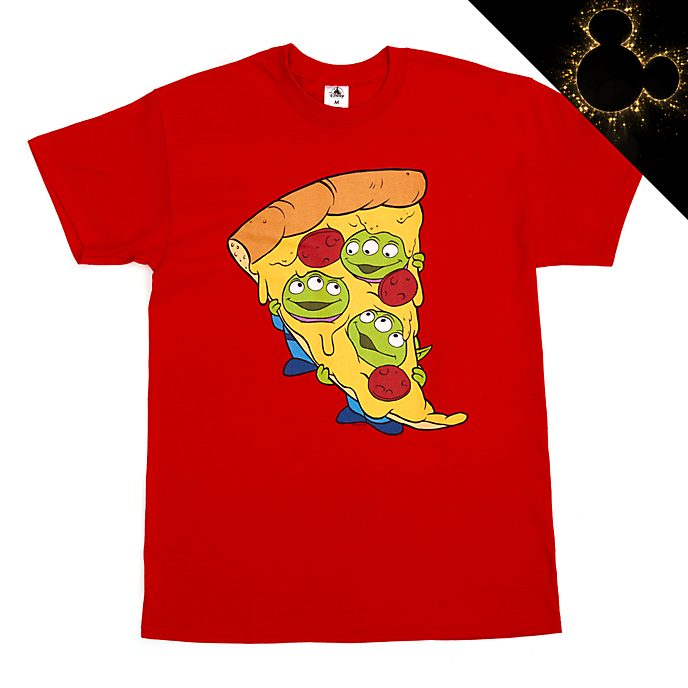 Aliens Pizza Customisable T-Shirt For Adults
