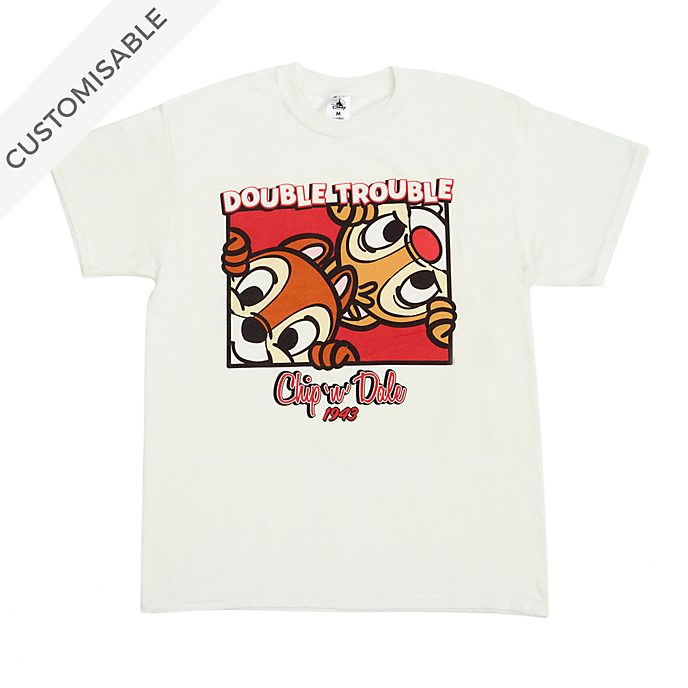 Chip 'n' Dale Double Trouble Customisable T-Shirt For Adults
