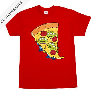 Aliens Pizza Customisable T-Shirt For Kids