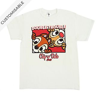 Chip 'n' Dale Double Trouble Customisable T-Shirt For Kids