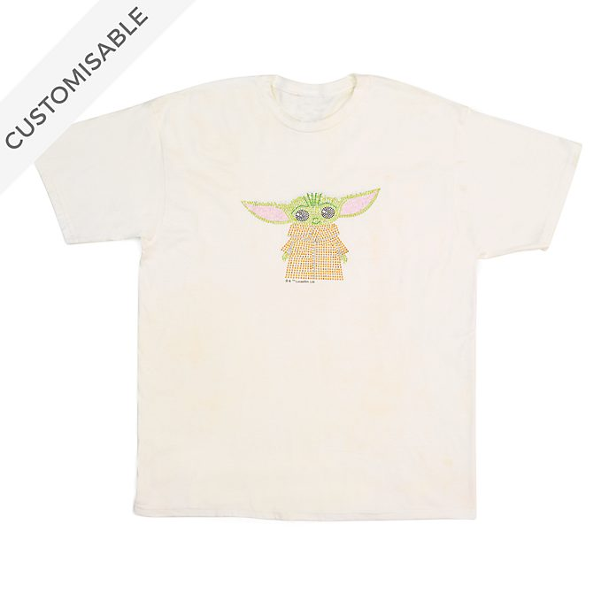 The Child Rhinestones Customisable T-Shirt For Adults, Star Wars