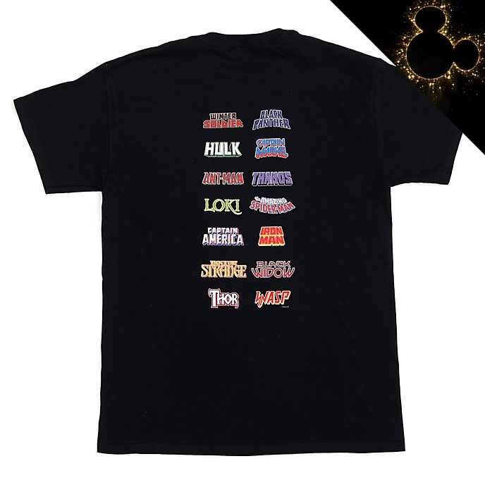 Marvel Logos Customisable T-Shirt For Adults