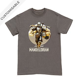 Star Wars: The Mandalorian Classic Customisable T-Shirt For Adults