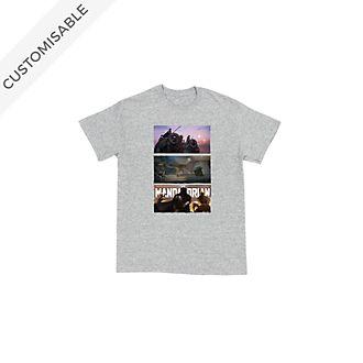 Star Wars: The Mandalorian Scenes Customisable T-Shirt For Kids