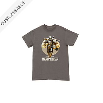 Star Wars: The Mandalorian Classic Customisable T-Shirt For Kids
