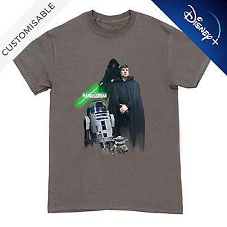 Luke Skywalker, R2-D2 and Grogu Customisable T-Shirt For Kids, Star Wars
