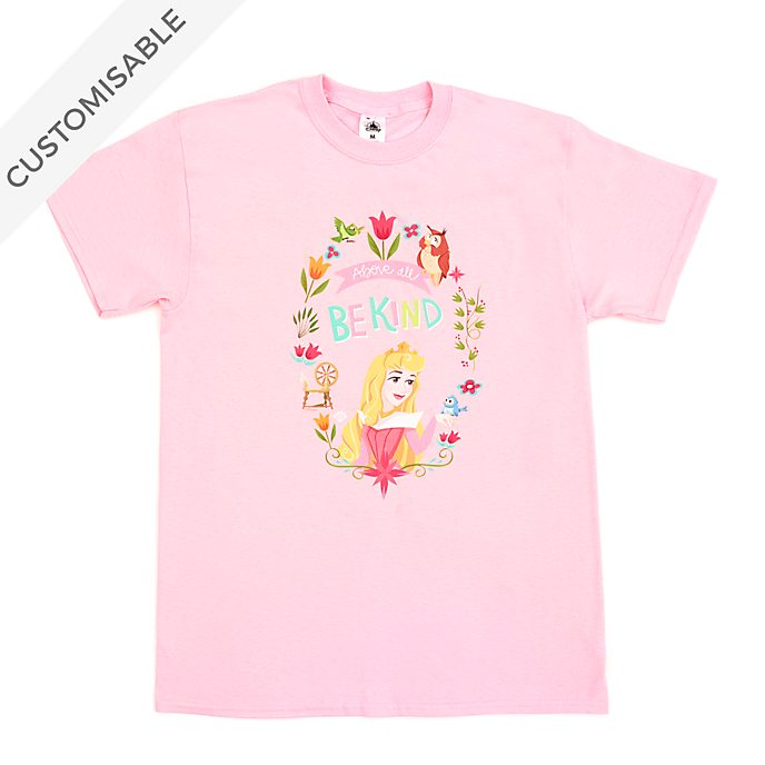 Aurora Above All Be Kind Customisable T-Shirt For Adults, Sleeping Beauty