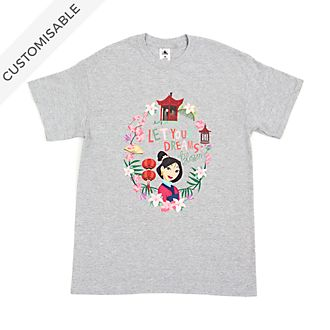 Mulan Let Your Dreams Blossom Customisable T-Shirt For Adults