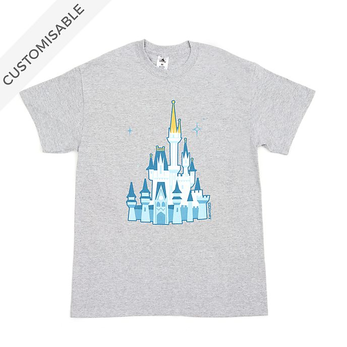Disney Castle Customisable T-Shirt For Adults