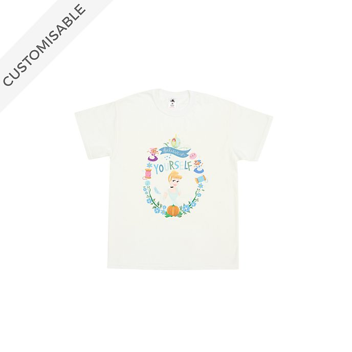 Cinderella Believe in Yourself Customisable T-Shirt For Kids