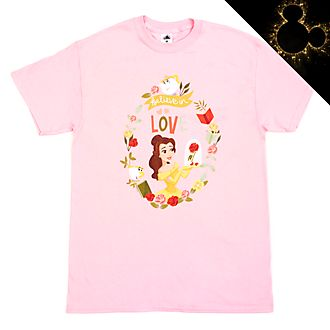 Belle Believe in Love Customisable T-Shirt For Kids, Beauty and the Beast