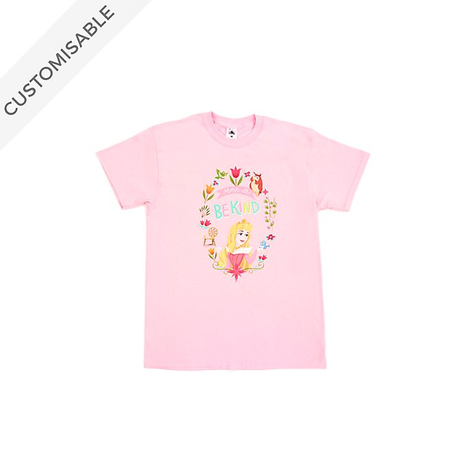 Aurora Above All Be Kind Customisable T-Shirt For Kids, Sleeping Beauty