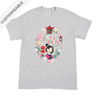 Mulan Let Your Dreams Blossom Customisable T-Shirt For Kids