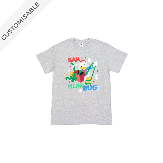 Donald Duck Bah Humbug Customisable T-Shirt For Kids