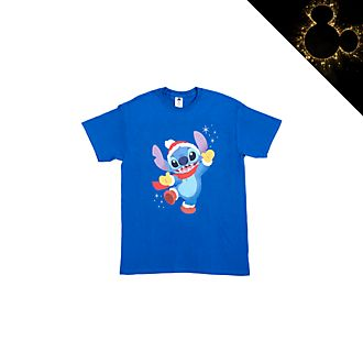 Stitch Festive Customisable T-Shirt For Kids