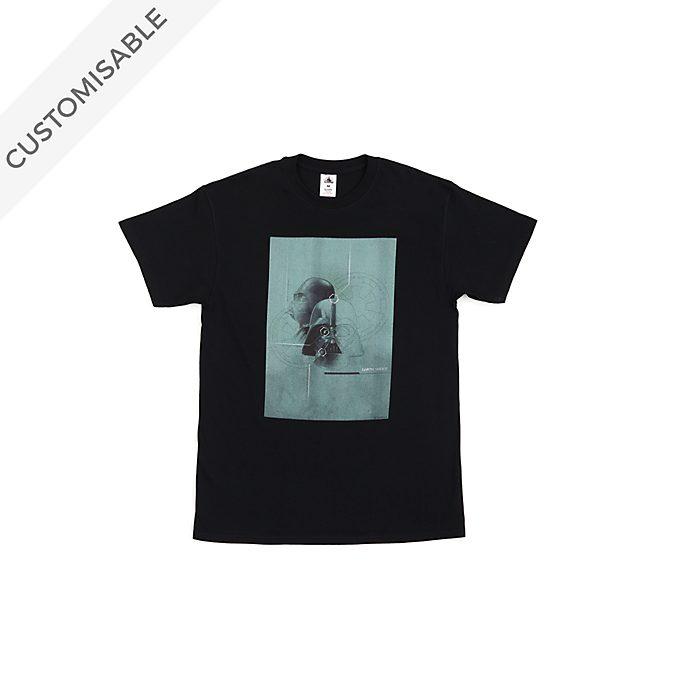 Darth Vader Sketch Customisable T-Shirt For Kids, Star Wars