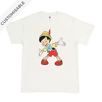 Pinocchio Customisable T-Shirt For Adults