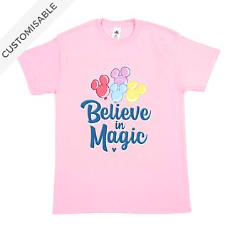 Mickey Mouse Believe in Magic Customisable T-Shirt For Kids