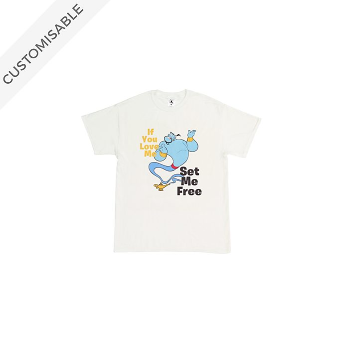 Genie Customisable T-Shirt For Kids, Aladdin