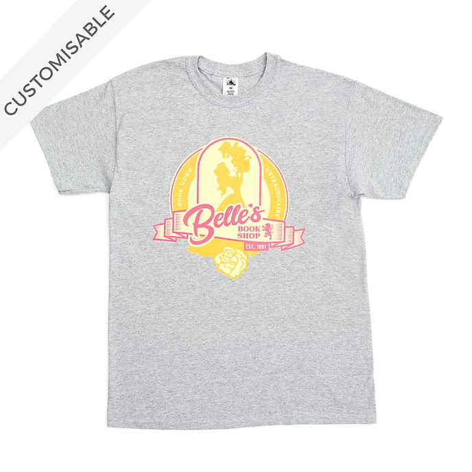 Belle's Book Shop Customisable T-Shirt For Adults, Beauty and the Beast