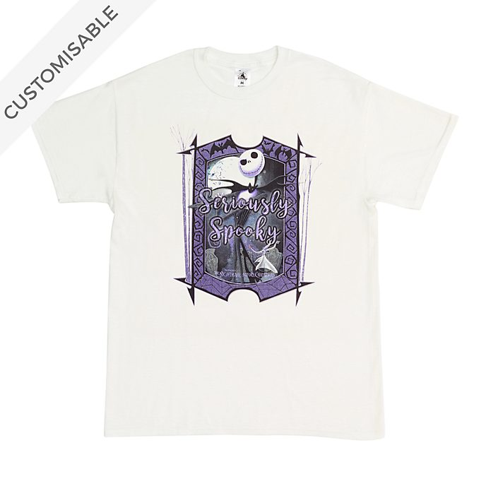 Jack Skellington Seriously Spooky Customisable T-Shirt For Adults