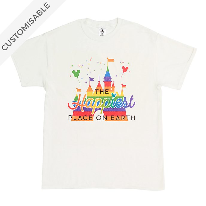 Fantasyland Castle Rainbow Customisable T-Shirt For Kids