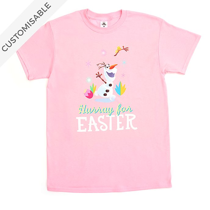 Olaf Easter Customisable T-Shirt For Kids
