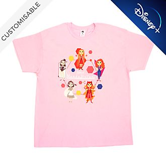 Wanda Stylised Customisable T-Shirt For Adults, WandaVision