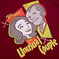 WandaVision 'Unusual Couple' Customisable T-Shirt For Adults