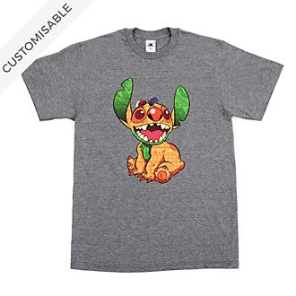 The Lion King Stitch Crashes Disney Customisable T-Shirt For Adults, 3 of 12