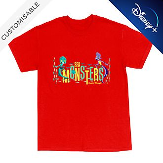 Luca and Alberto 'Sea Monster' Customisable T-Shirt For Adults
