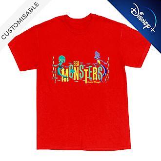 Luca and Alberto 'Sea Monster' Customisable T-Shirt For Kids