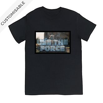Grogu 'Use the Force' Customisable T-Shirt For Adults
