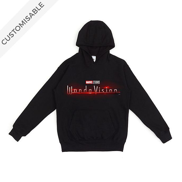 WandaVision Logo Customisable Hooded Sweatshirt For Adults