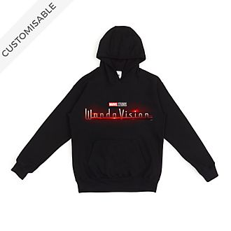 WandaVision Logo Customisable Hooded Sweatshirt For Adults