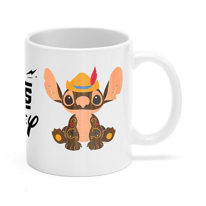 Pinocchio Stitch Crashes Disney Customisable Mug, 5 of 12
