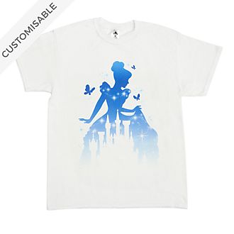Cinderella and Castle Customisable T-Shirt For Kids