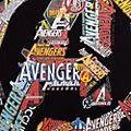 Avengers Logo Customisable T-Shirt For Kids